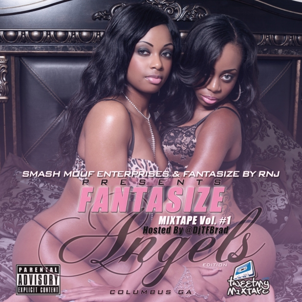 Fantasize Mixtape Cover (Medium)