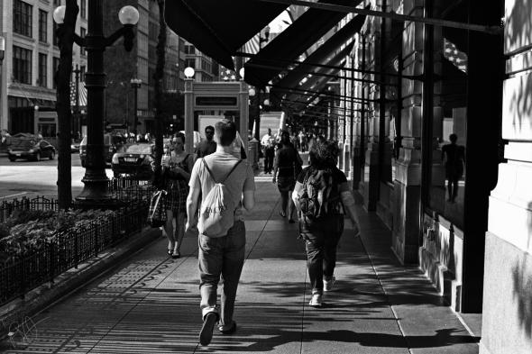 The Long Walk Through The City 1