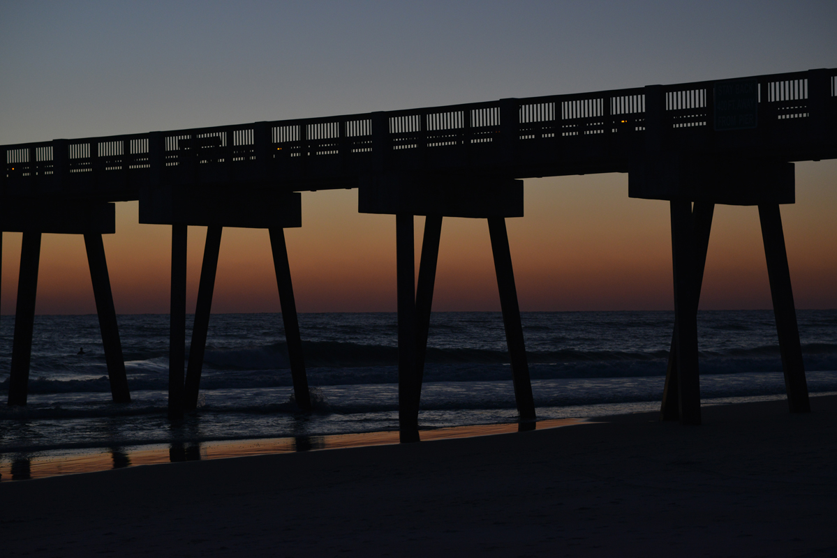 sunset pier 3