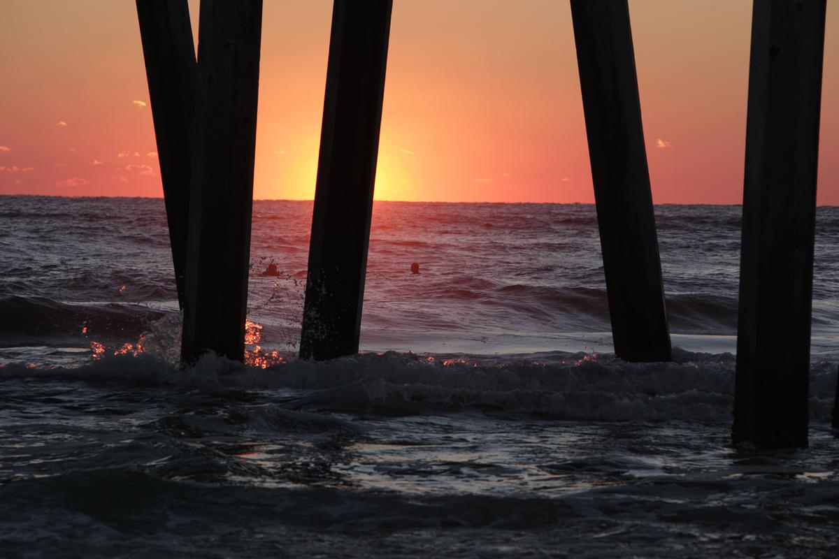 sunset pier 4