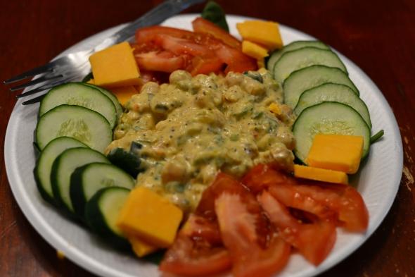 chick-pea salad 1