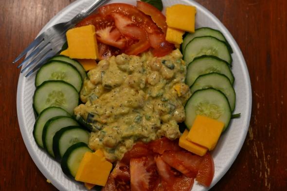 chick-pea salad 2