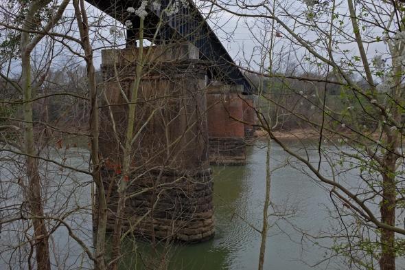 under riverwalk bridge
