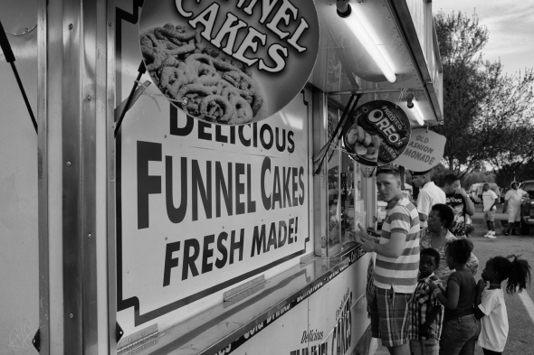 funnel cake line blog