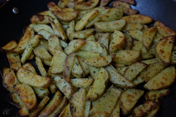 seasoned baked home fries