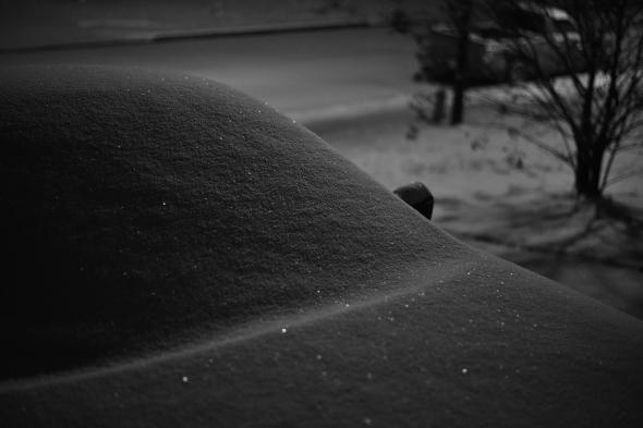 snowy snowy night