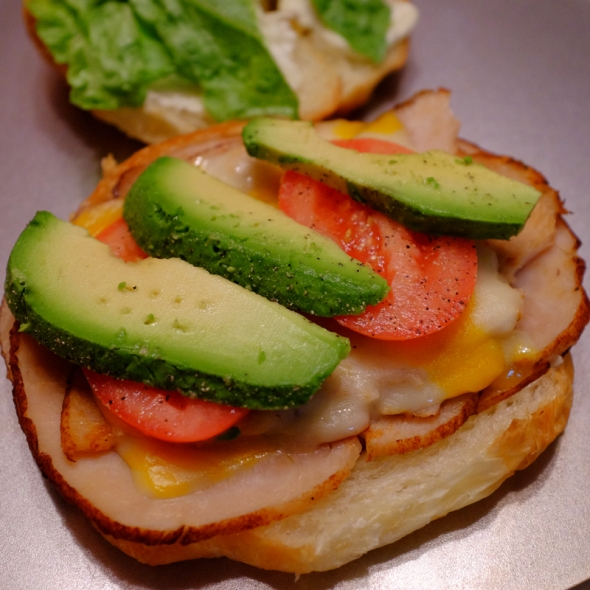 turkey sandwhich