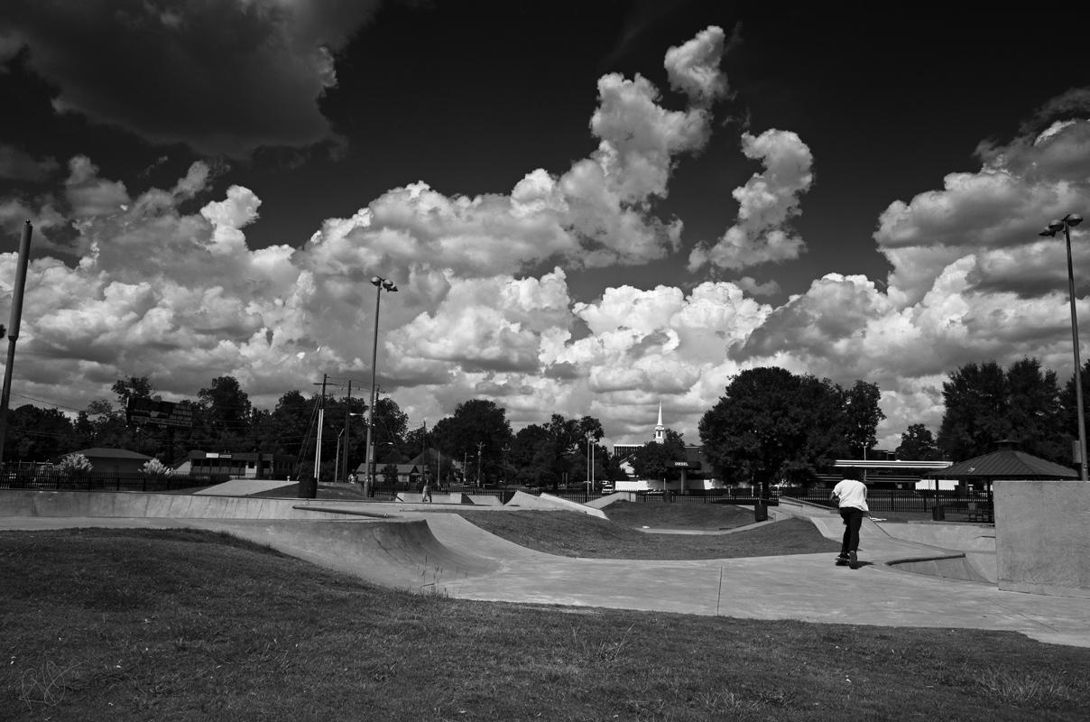Skate Park Clouds 2 blog
