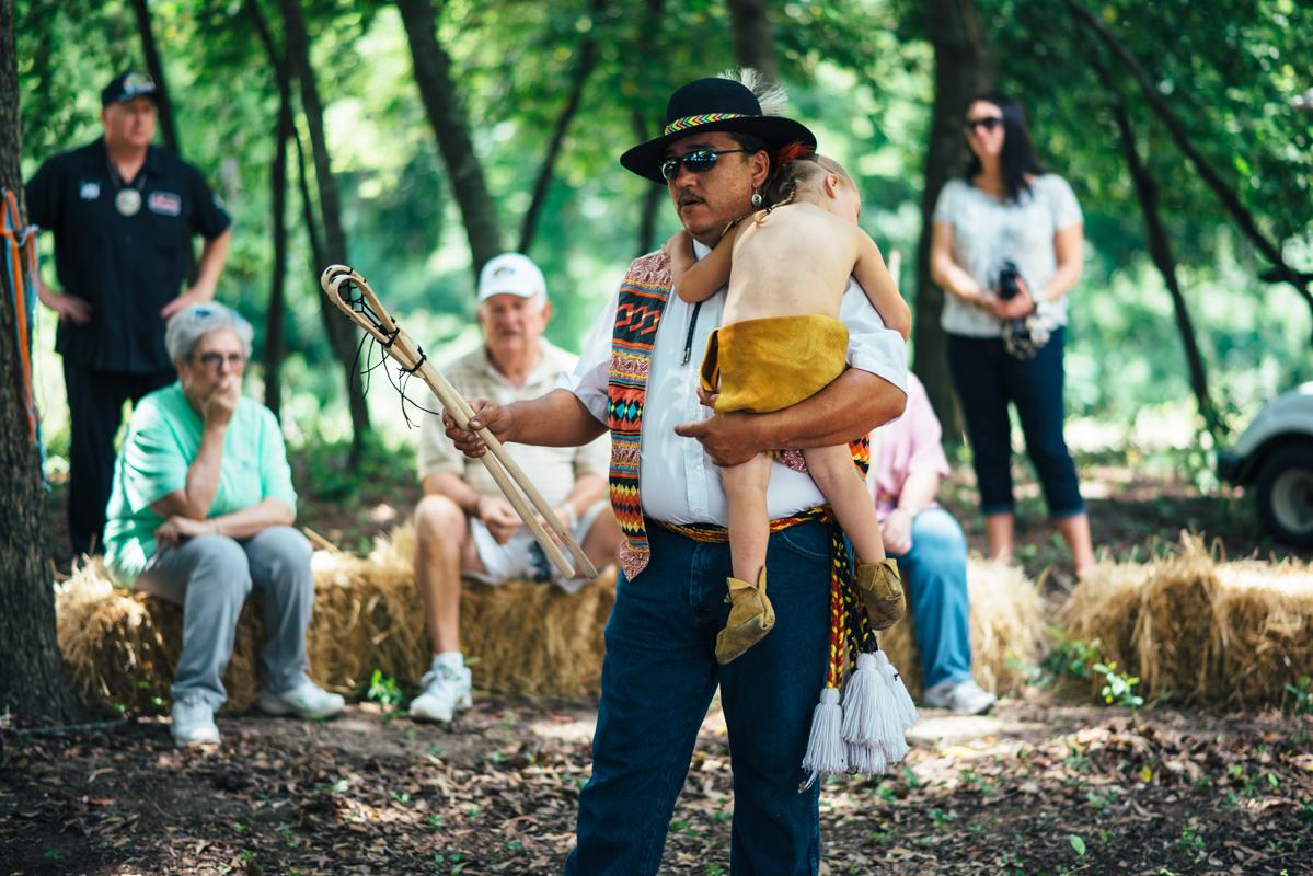 Native Father & Child 1
